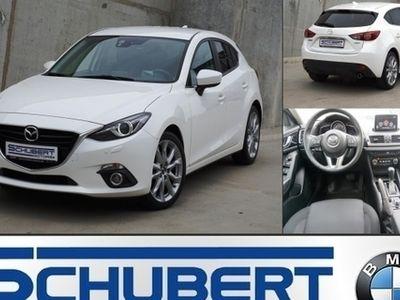 gebraucht Mazda 3 LED Navi Kamera Schaltwippen Lenkradheizung