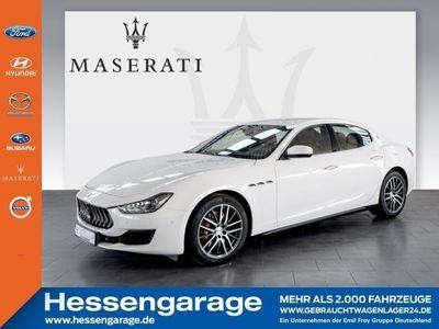 gebraucht Maserati Ghibli Aut 19'' Totwinkel Kamera Navi DAB Leder