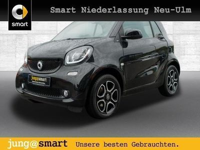 gebraucht Smart ForTwo Coupé 52kW prime DCT cool&Audio SHZ Pano