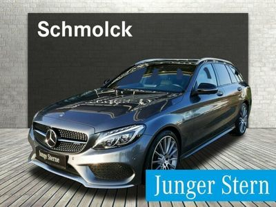 gebraucht Mercedes C43 AMG 4M T-Modell PANO/DSTR/360/COMAND/19/AHK/LED