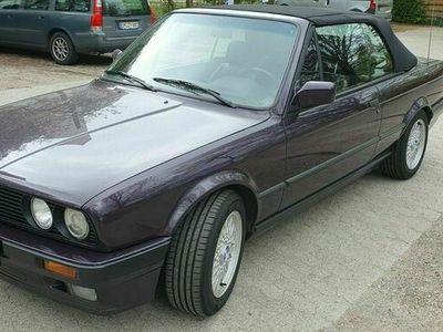 gebraucht BMW 318 Cabriolet i E30 Last Edition Vollleder Windschot