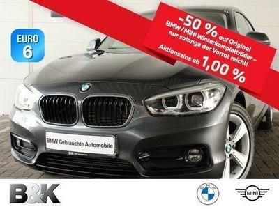 gebraucht BMW 116 d 3-Türer Sport Line LED PDC Navi Tempomat
