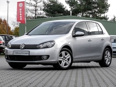 gebraucht VW Golf VI 1.6 Comfortline Navi/Klima/Parklenkass.