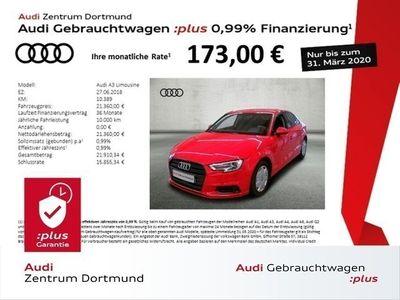 gebraucht Audi A3 Limousine sport 1.5TFSI Navi/BlackOptik/DAB/Xen