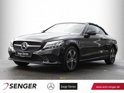 gebraucht Mercedes C180 Cabrio *9G-Tronic*Display digital*LED*Navi
