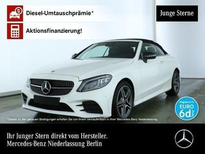 gebraucht Mercedes C300 Cab. AMG Line Multibeam Burmester Distr. PTS