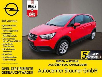 gebraucht Opel Crossland X 1.2T EDITION S/S130PS*PDC*NAVIMITHANDY*SPUR&SCHILD