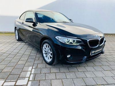gebraucht BMW 218 i Coupe Advantage KLIMA / NAVI / XENON / ALU