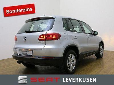 gebraucht VW Tiguan 2.0 TDI Trend & Fun KLIMA SITZHEIZUNG PDC - Klima,Sitzheizung,Alu,Servo,
