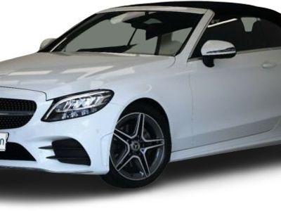 gebraucht Mercedes C220 C 220d 194PS Cabrio ACC Alcantara LED Totwinkel