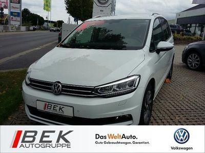 gebraucht VW Touran 1.4 TSI Sound LED, NAVI, ACC, BLUETOOTH KLIMA ALU