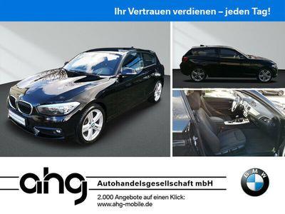 gebraucht BMW 118 i 3-türer Alu 18-Zoll Klimaautomatik PDC Sitzheizung Tempomat Nebellampen