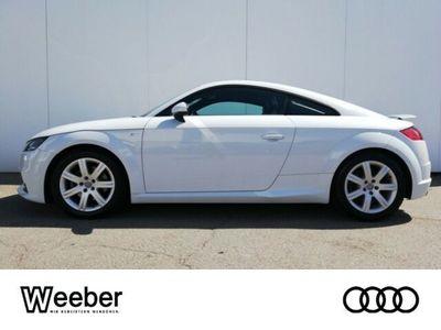 gebraucht Audi TT 2.0 TFSI quattro Navi LED Leder LM Tempo
