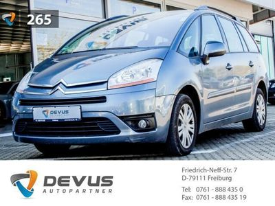 gebraucht Citroën Grand C4 Picasso Tendance 1.8 16V 7-Sitzer Klimaautom Temp CD MP3 E