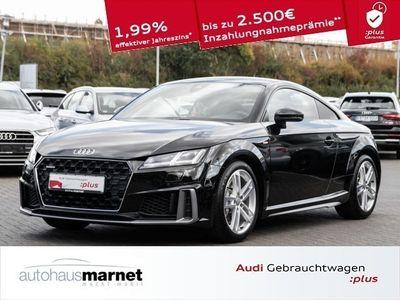 gebraucht Audi TT Coupé 45 TFSI quattro S line Matrix LED Navi Tempo