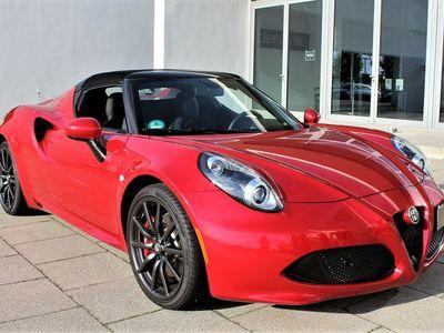 gebraucht Alfa Romeo 4C 1750 TBI Spider | D-Fzg | 2. Hand | 13.900 Km
