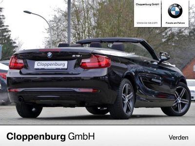 gebraucht BMW 218 i SPORT HIFI TEMPOMAT PDC SITZHZG TEL KLIMA