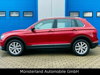 gebraucht VW Tiguan Highline 4Motion 4 x 4 AHK Navi ACC 8Fach als SUV/Geländewagen/Pickup in Greven