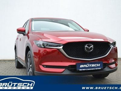 gebraucht Mazda CX-5 SKYACTIV-D 184 AWD 6AG Sportsline + LEDER-S + TEC-