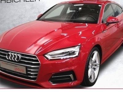 gebraucht Audi A5 Sportback S line 35 TDI S tronic MMIPlus Navi Teilleder