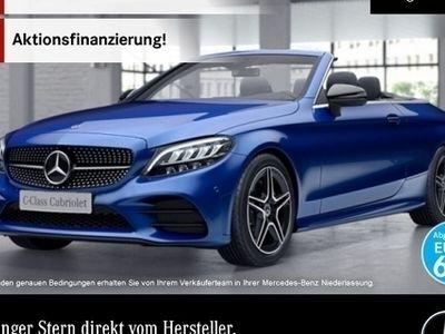 gebraucht Mercedes C200 Cab. AMG Burmester Distr. LED Night Airscarf