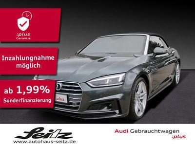 gebraucht Audi A5 Cabriolet S line 40 TDI qu LED*NAVI*PDC*DIGI-