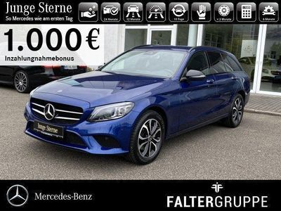 gebraucht Mercedes C200 T 4M M-LED+AMBIENTE+KAMERA+KEYLESS+NIGHT