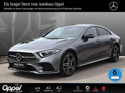 gebraucht Mercedes CLS400 d 4MATIC Comand+Klima +9G+SH+AMG-Styling