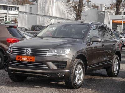 gebraucht VW Touareg 3.0 TDI V6 AHK Leder Luft Navi (Xenon)