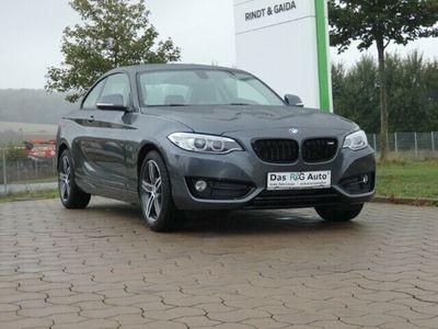 gebraucht BMW 220 i Sport Line Coupe Xenon Sitzheizung Klimaautomatik