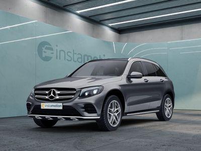 gebraucht Mercedes GLC220 GLC 220d 4M AMG Sport AHK Standhz. LED Pano Nav