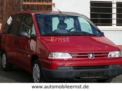 gebraucht Peugeot 806 2.0 Schiebedach Multifunktionslenkrad
