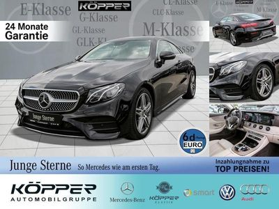 gebraucht Mercedes E300 AMG Coupé Black Business Comand/Styling LE