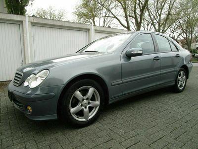 gebraucht Mercedes C220 CDI Klimaautomatik Anhängerkupplung 6-Gang