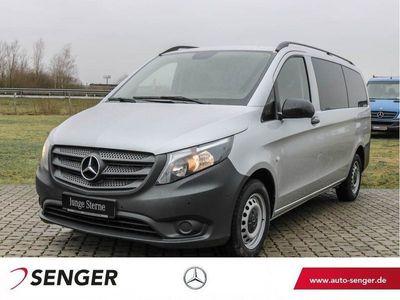 gebraucht Mercedes Vito 116 CDI lang 9-Sitze 2xKlima 7G-Aut. AHK