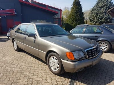 używany Mercedes 600 SELV12 - WENIG KM -SCHECKHEFT
