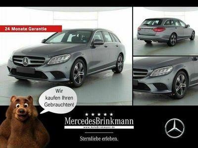 gebraucht Mercedes C220 d T-Modell AVANTGARDE/AHK/LED/KAMERA/NAVI