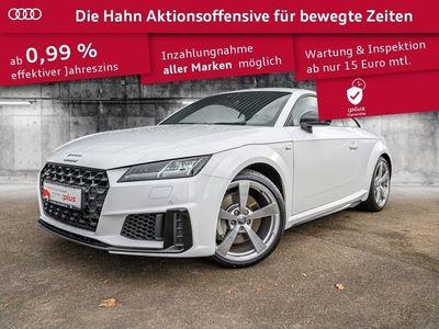 gebraucht Audi TT Coupé 45TFSI qua S-trc S-line GRA Navi LED