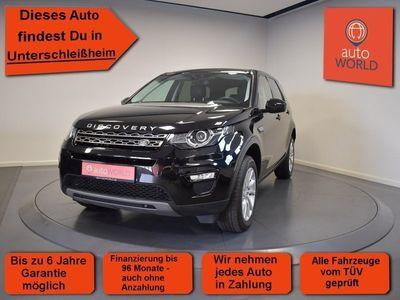 gebraucht Land Rover Discovery Sport 2.0 TD4 SE EURO 6, Automatik, Bi