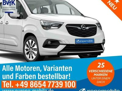 gebraucht Opel Combo Life Edition XL 2021 (D4) 1.2 Direct Injection Turbo 100