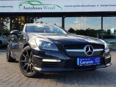 gebraucht Mercedes SLK55 AMG AMG *LEDER ROT*