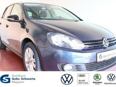 gebraucht VW Golf VI 1.6 TDI DSG Style AHK+Klimaautomatik