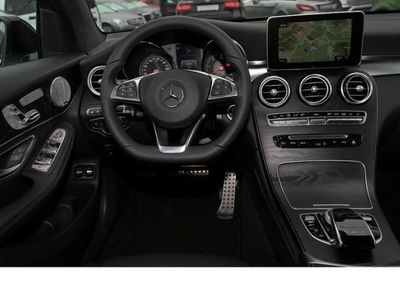 gebraucht Mercedes 350 GLCd Coupe 4MATIC AMG-Line NIGHT 360° Coman