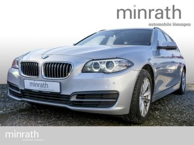gebraucht BMW 520 d Touring Navi Keyless Niveau AHK-klappbar El. Heckklappe PDCv+h LED-Tagfahrlicht Multif.Lenkrad