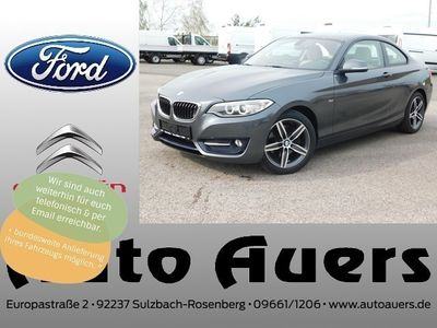 gebraucht BMW 220 d xDrive Sport Line #Xenon #Leder #Navi #8-Ga