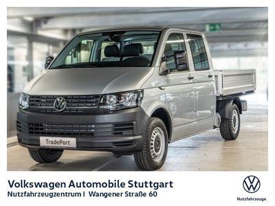 gebraucht VW T6 Pritsche DOKA langer Radstand 2.0 TDI