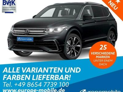gebraucht VW Tiguan Allspace Life (D4 Promo) 2,0 TSI BMT 4MOTION 140 DSG
