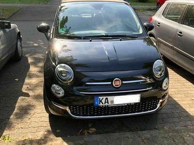 gebraucht Fiat 500C 8V LOUNGE Cabrio 1.2 in Schwarz-...