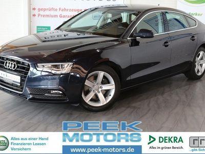 gebraucht Audi A5 Sportback 1.8 TFSI multitronic Navi Xenon Sihzg Keyless-Entry 17 Zoll Alu Sportsitze