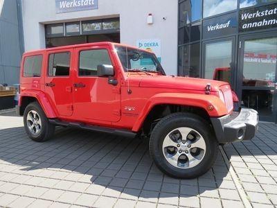 gebraucht Jeep Wrangler Unlimited 3.6 4x4 Sahara Hardtop/Aut/Le